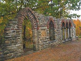 Mackenzie King Estate ruins