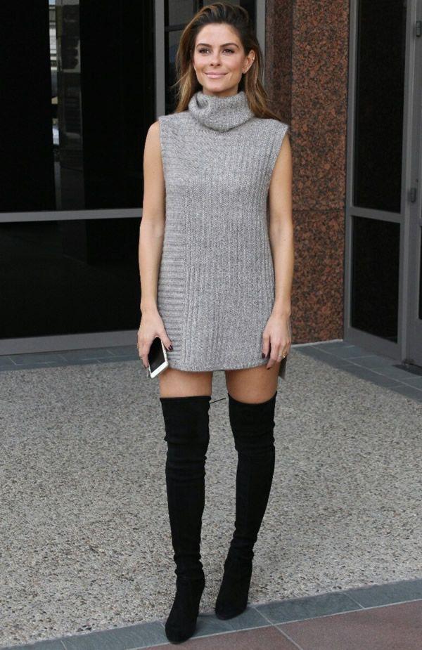 maria menounos dress street style