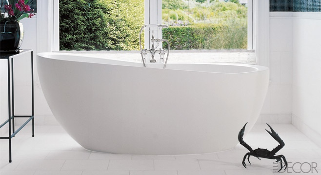 Love the tub.  Could live without the crab.