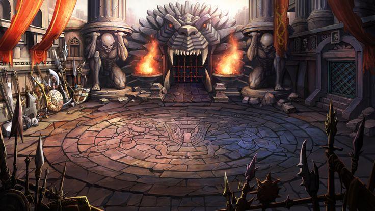Arena stage by mio2014.deviantart.com on @DeviantArt