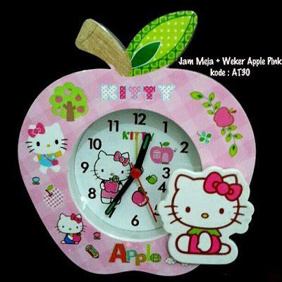 Toko Cherish Imut Jam Meja Hello Kitty Murah Grosir Ecer
