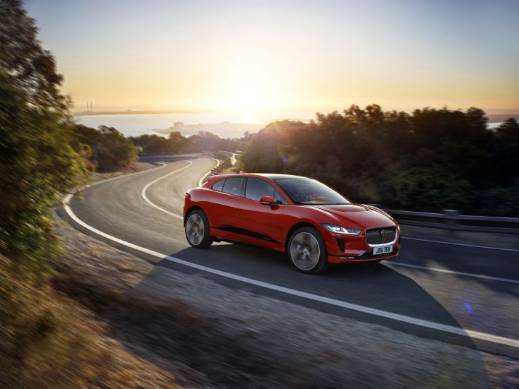Jaguar reveals the new all-electric I-PACE SUV