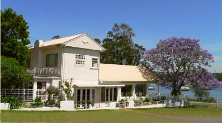 Dobell House Wangi, Lake Macquarie. Owned by artist William Dobell and now houses a museum.