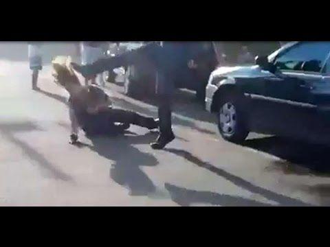 Homem agride covardemente uma Guarda Feminina
