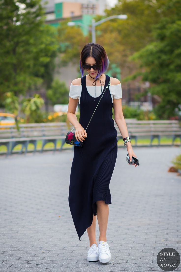 New York Fashion Week SS 2016 Street Style: Irene Kim Pinterest: KarinaCamerino