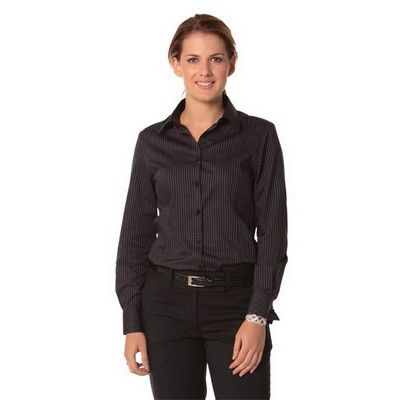 Womens Modern Stretch Long Sleeve Shirt Min 25 - Clothing - Business Shirts - Her Business Wear - WS-M81321 - Best Value Promotional items including Promotional Merchandise, Printed T shirts, Promotional Mugs, Promotional Clothing and Corporate Gifts from PROMOSXCHAGE - Melbourne, Sydney, Brisbane - Call 1800 PROMOS (776 667)