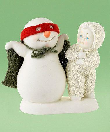 Snowbabies You're My Superman Figurine by Department 56 #zulily #zulilyfinds