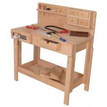 Kinder-Werkbank oder Kinder Hobelbank 4014 Holzspielzeug-Peitz.de