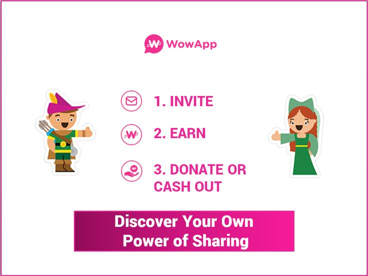 Start using the #PowerOfSharing: https://www.wowapp.com/join-wowapp?utm_source=pinterest&utm_medium=post&utm_campaign=steps