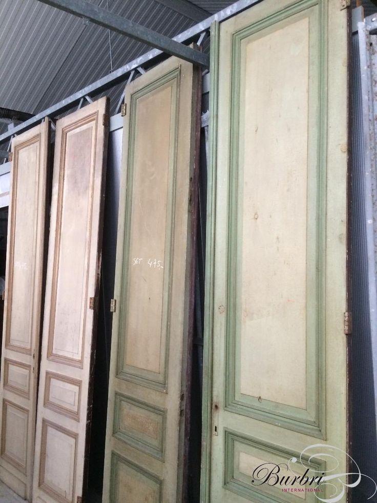 Brocante Antique set old high doors - Antieke set deuren - Oude bouwmaterialen - Burbri, 475 €