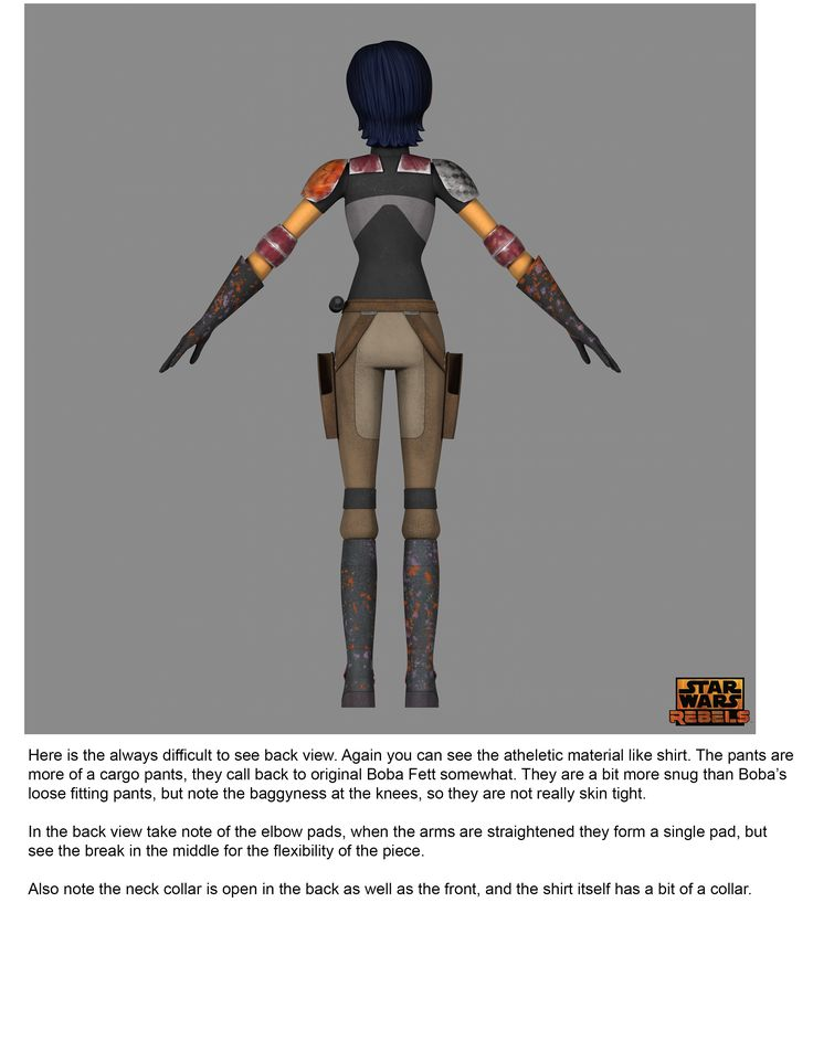 Just in time for Star Wars Day, executive producer Dave Filoni details the costume of the Ghost crew's most explosive member.