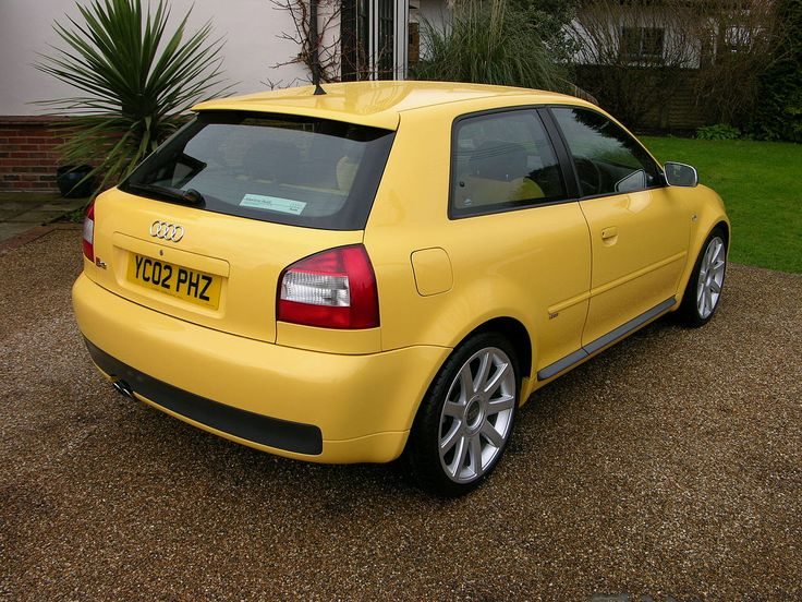 Audi S3 2002 Imola Yellow - Flickr - The Car Spy (1) - Audi A3 - Wikipedia