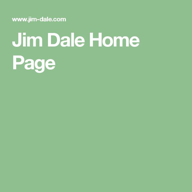 Jim Dale Home Page