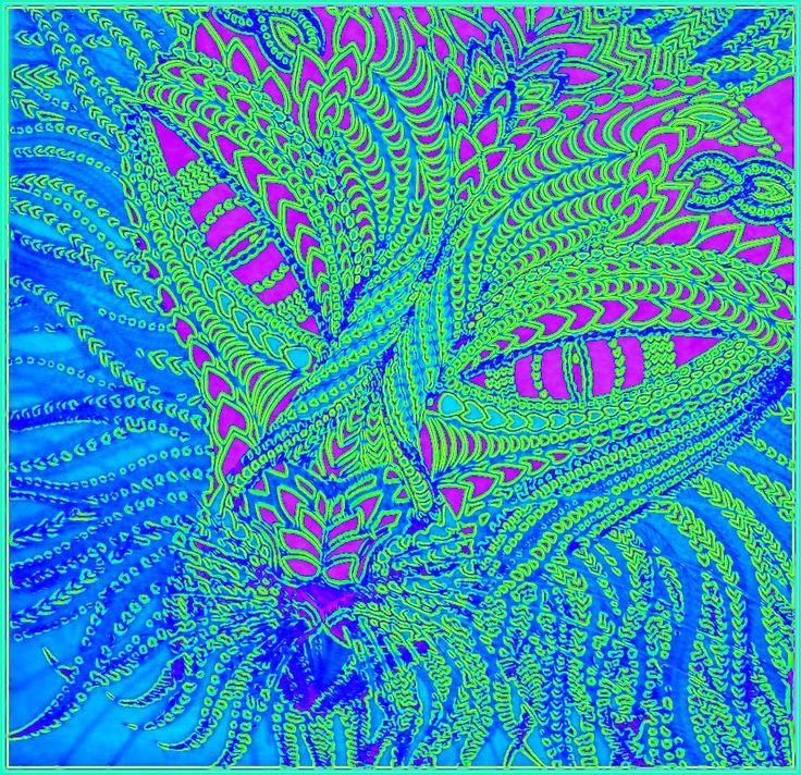 Kočka Rosalie Autorská kresba, nedokončeno Reprofoto:© johanahajkova Praha cz 📷 @johanahajkova