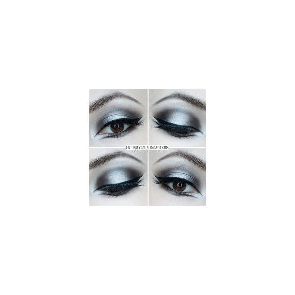 Gothic Makeup Tutorial By ❤ liked on Polyvore featuring beauty products, makeup and eye makeup #gothicmakeup