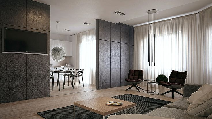 Apartment in Moscow by Yevhen Zahorodnii