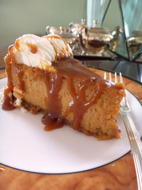 Cheesecake de Caramelo salgado http://www.helenagasparetto.com.br/