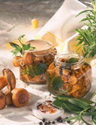 Das Rezept für Pfifferlinge in Würz-Essig und weitere kostenlose Rezepte auf LECKER.de