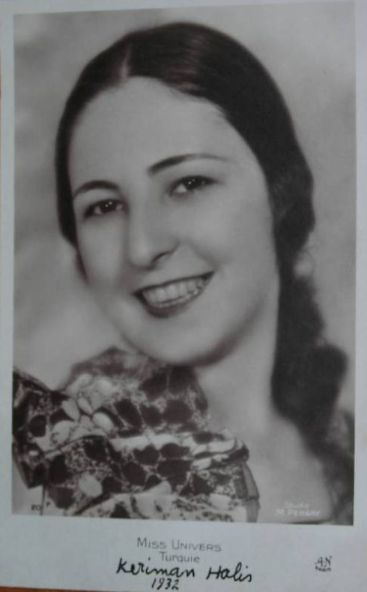 """Keriman Halis Ece Türk güzellik kraliçesi. Babası devlet memuru Tevfik Halis'tir. Keriman Halis ECE, 1913 yılında İstanbul'da doğmuştur. 31 Temmuz 1932 yılında Belçika'nın Spa şehrinde yapılan Dünya Güzellik yarışmasında """"Dünya Güzeli"""" seçilmiştir. Atatürk yarışmadan sonra Kraliçe anlamında kullanılan """"ECE"""" soyadı vermiştir"""