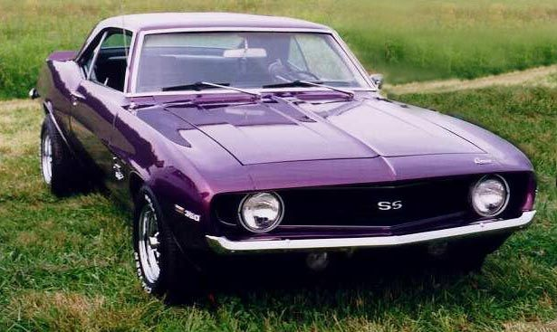 Purple 1969 Camaro SS