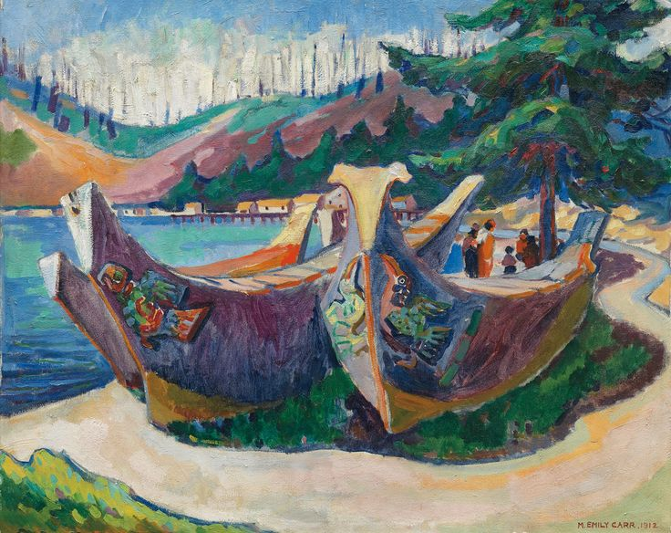 Painting by Emily Carr/courtesy of the Vancouver Art Gallery. Article: Emily Carr's British Columbia An unsettling journey through the archives, By Sarah Milroy, From the May 2015 Walrus magazine