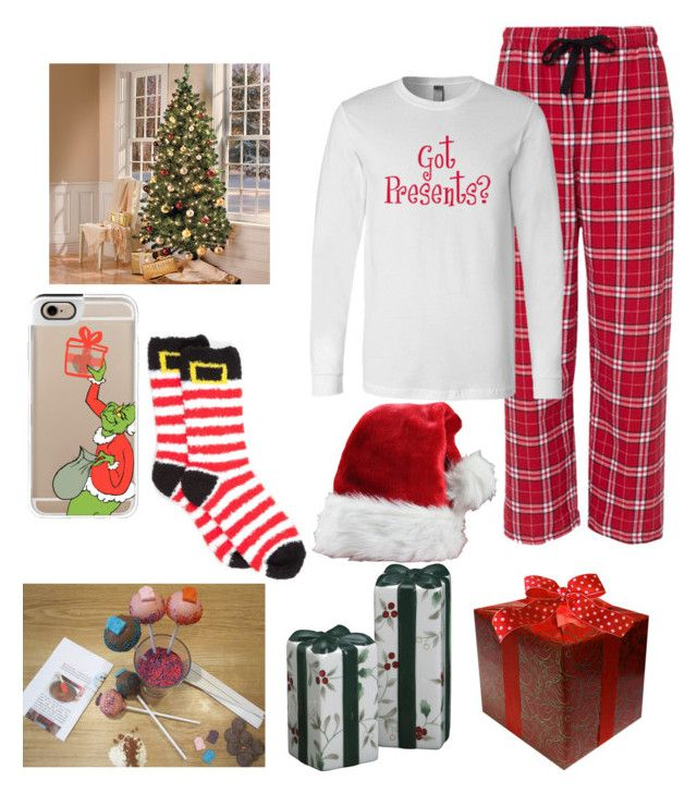 """""""26 more sleeps till CHRISTMAS"""" by tokyome ❤ liked on Polyvore featuring moda, Casetify, Pfaltzgraff y New Directions"""