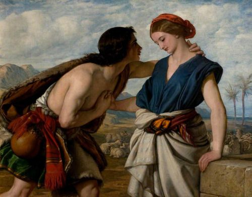 The Meeting of Jacob and Rachel  William Dyce (1806–1864)  New Walk Museum & Art Gallery, Leicester Arts and Museums Service