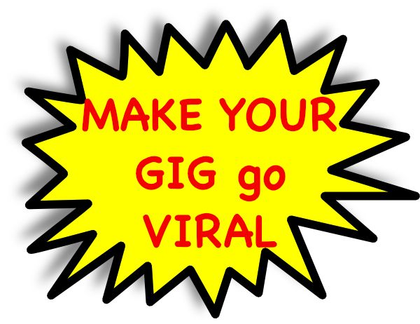 how to make an image go viral