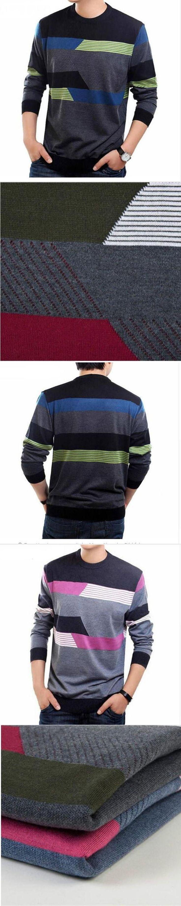 Manner Winter Kaschmir Wolle Pullover Marke Kleidung Herren Pullover Fashion Drucken Freizeithemd Pullover Manner Ziehen Oansatz