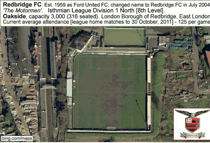 Oakside, Redbridge FC of England.
