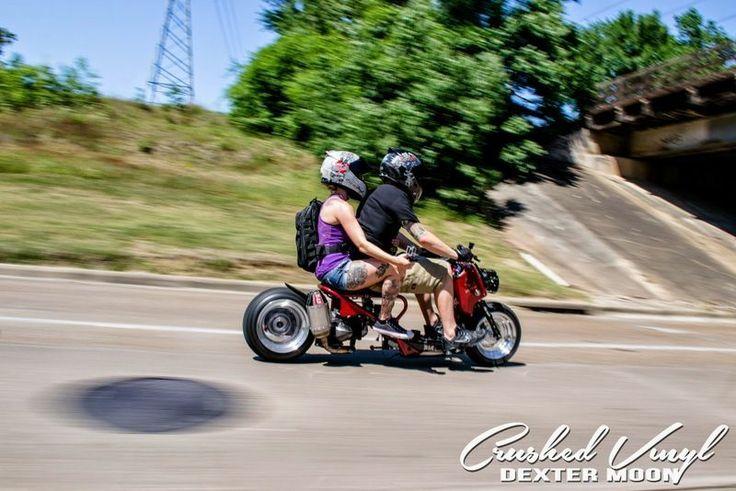 Custom Two-Seater Honda Ruckus | I want to ride ...