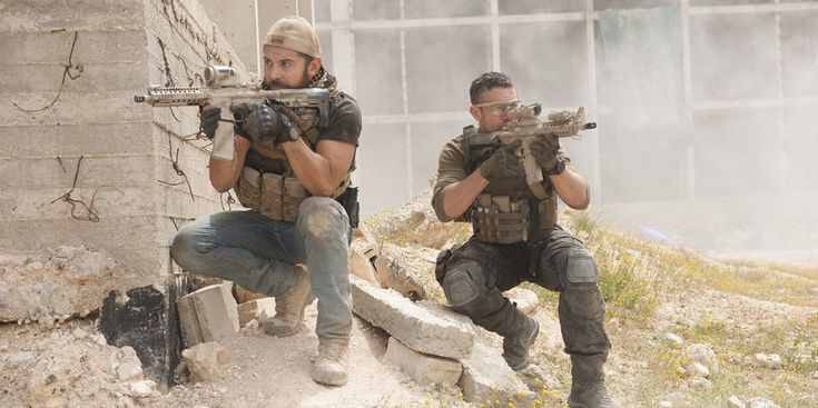 Daniel McPherson and Warren Brown in Strike Back Season 5
