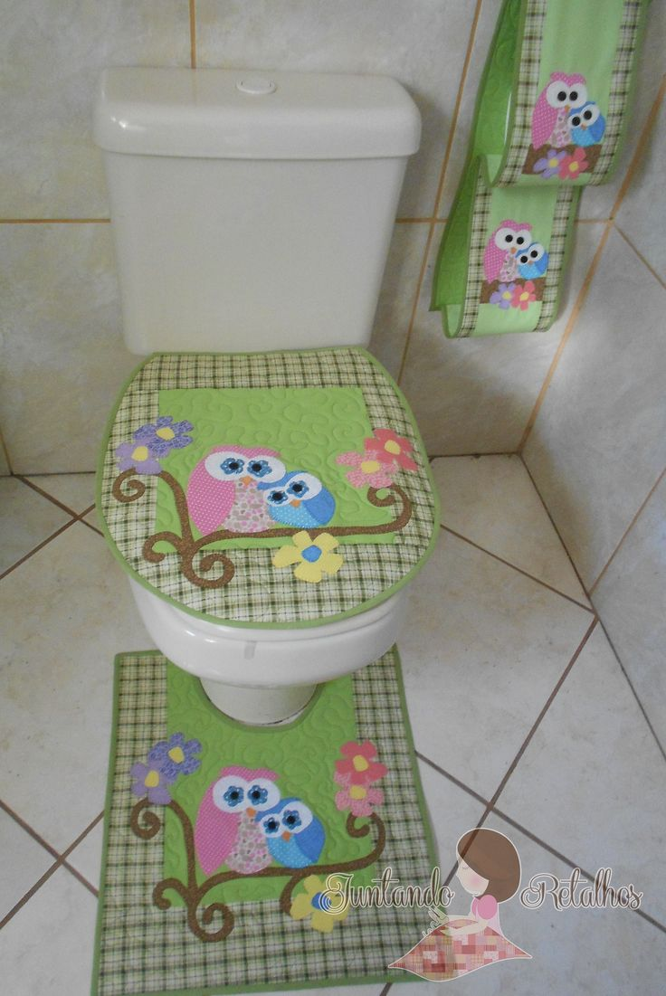 jogo banheiro mamãe coruja II | Flickr - Photo Sharing!