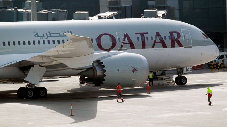 """Image copyright                  Reuters             Image caption                                      Saudi Arabia and several other Arab states have suspended flights to and from Qatar                               Qatar has vowed it will """"not surrender"""" its... - #Arab, #Qatar, #Row, #States, #Surrender, #Vows, #World_News"""