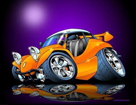 Cartoon VW Rod