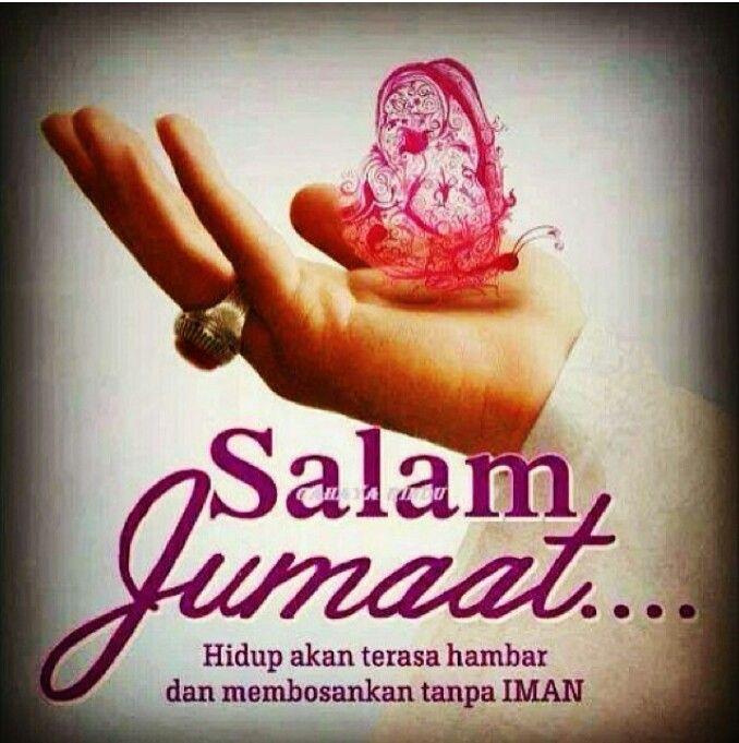 Jumaat al-mubarak. Semoga harianku penuh dgn iman. InshaAllah. .