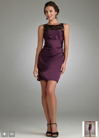 Good golly Miss Molly in plum