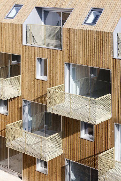 34 social housing units in bondy by atelier du pont find for Definition architecte dplg