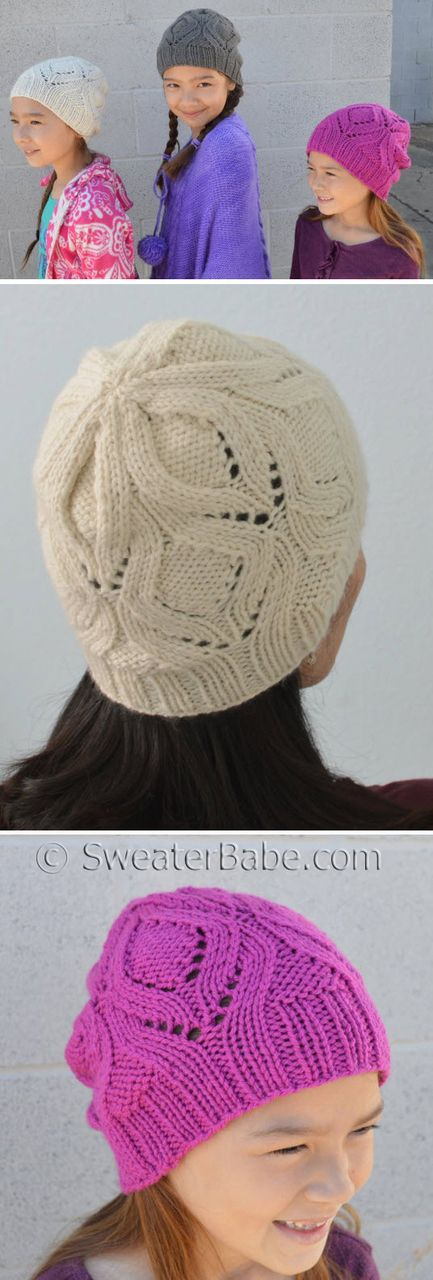 10 best one ball and two ball knitting patterns images on pinterest 225 the one hat pdf knitting pattern fandeluxe Choice Image