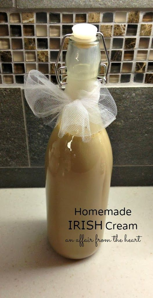 homemade irish cream recipe homemade kahlua homemade liquors homemade ...