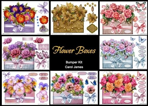 Bumper Kit - Flower Boxes