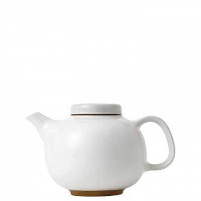 Olio White Teapot - Barber and Osgerby