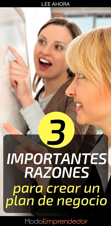3 importantes razones para tener un plan de negocio.