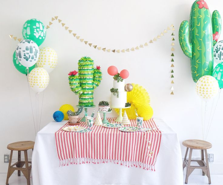 217 Best Cactus Party Images On Pinterest Themed Parties