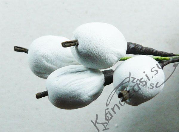 Мастер класс: плоды снежноягодника из фоамирана