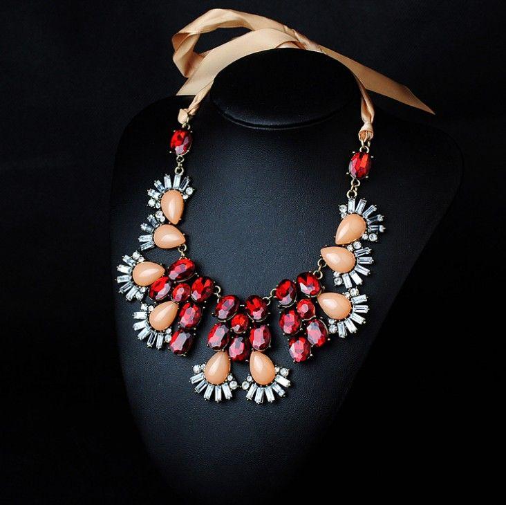 313 Best Resin Bib Statement New Design Necklace Fashion