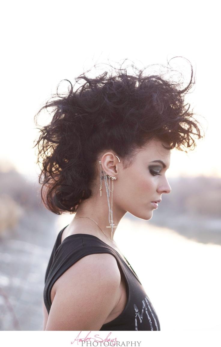 Fashion - Pretty Punk - Amber Shaw Photography - Kali Wengreen - Ellie DeBoe