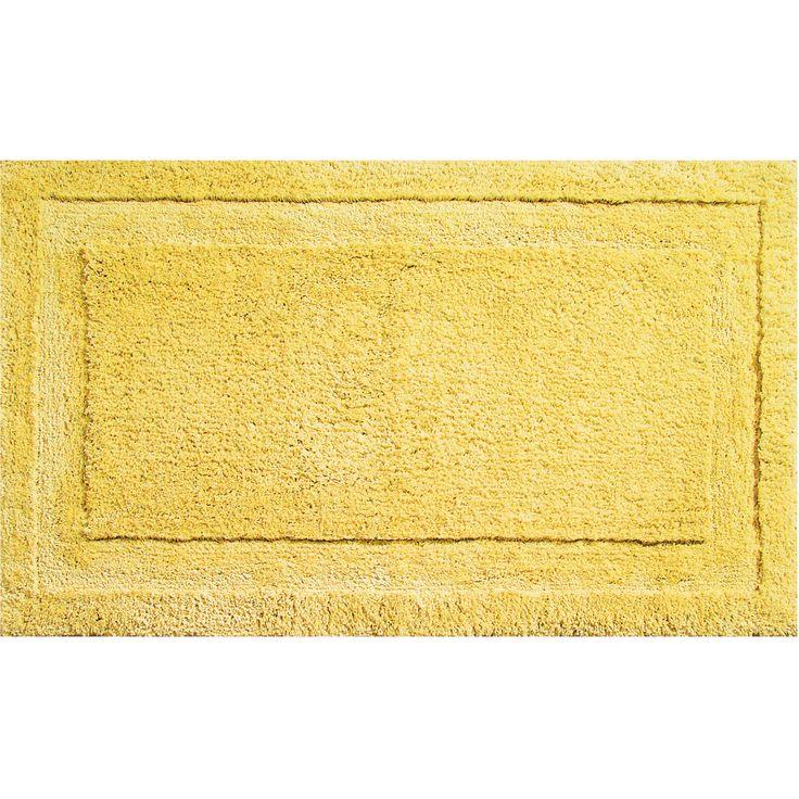 InterDesign Yellow Bath Mat