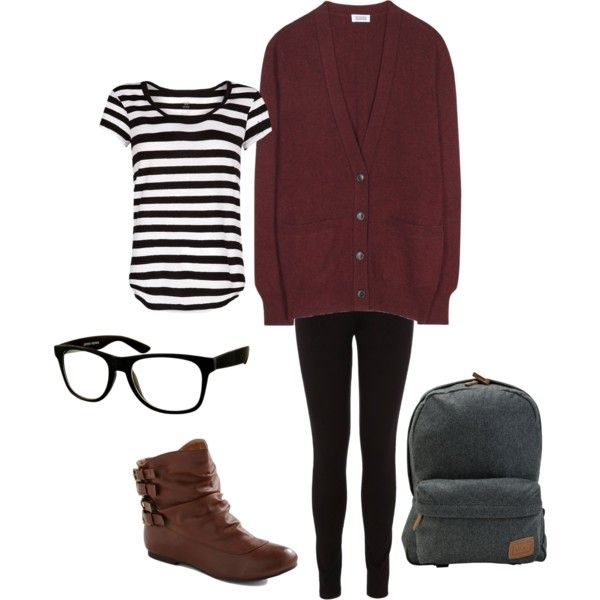 lazy fall outfit for school