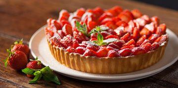 Ma fabuleuse tarte aux fraises